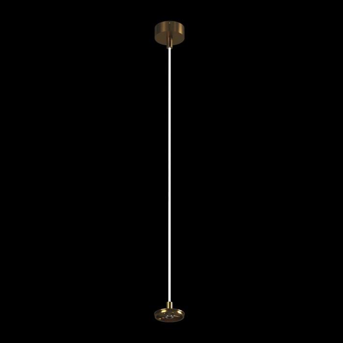 1Крепление сменное М6 для светильников VILLY, подвесное, цвет античный бронзовый
