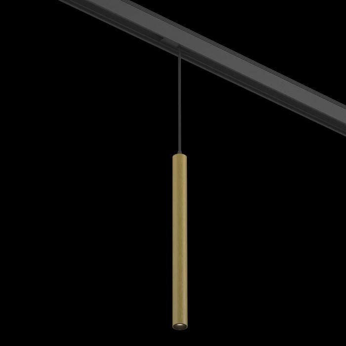 2Подвесной трековый светильник SY 7W Латунь 3000К SY-601243-BR-7-36-WW
