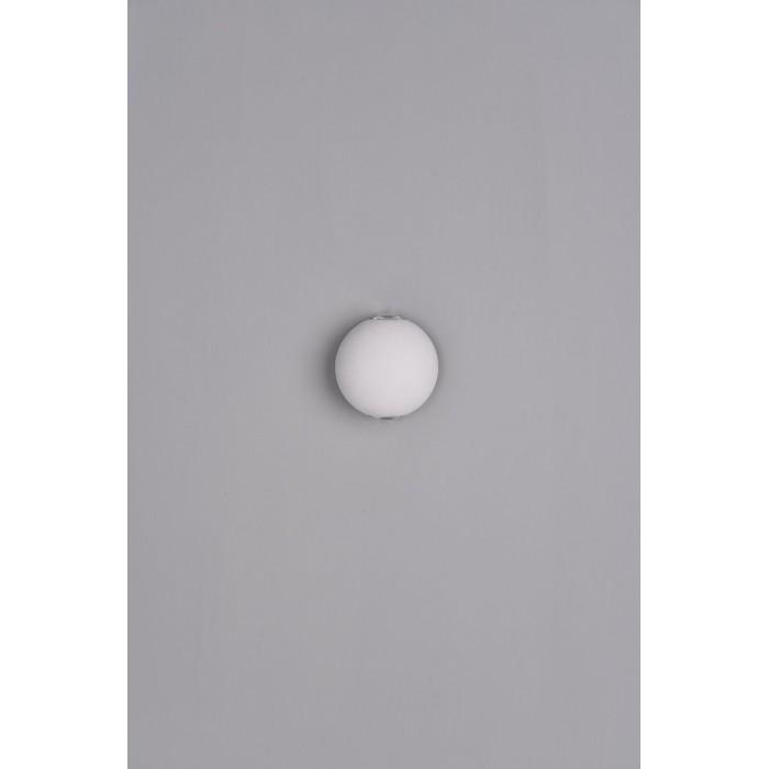 2Настенный светильник SFERA-SBL, белый, 6Вт, 3000K, IP54, GW-A161-2-6-WH-WW