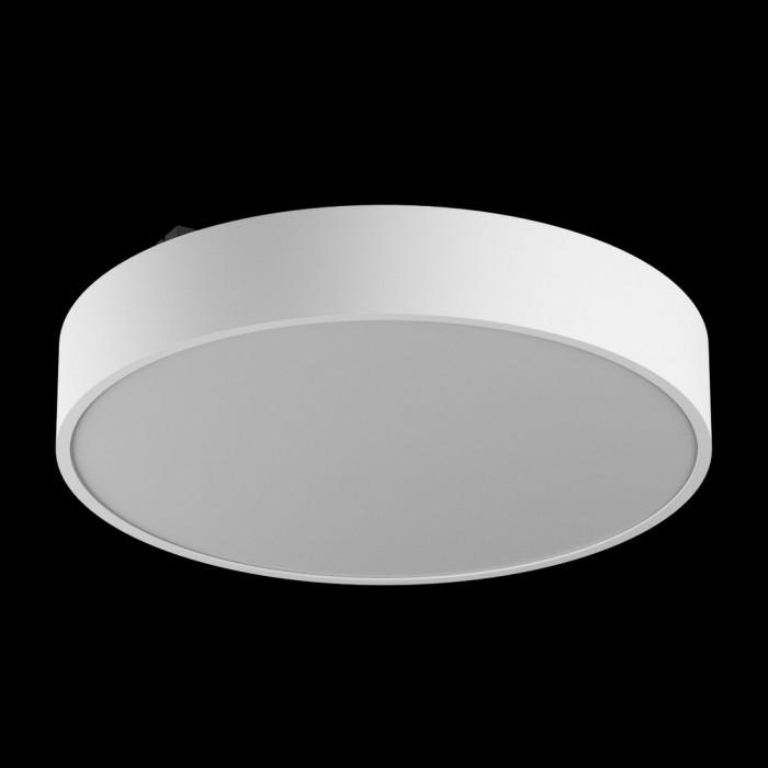 1Светильник светодиодный потолочный накладной наклонный, серия IMD, белый, 32Вт, IP44, Теплый белый (3000К) трехрежимный