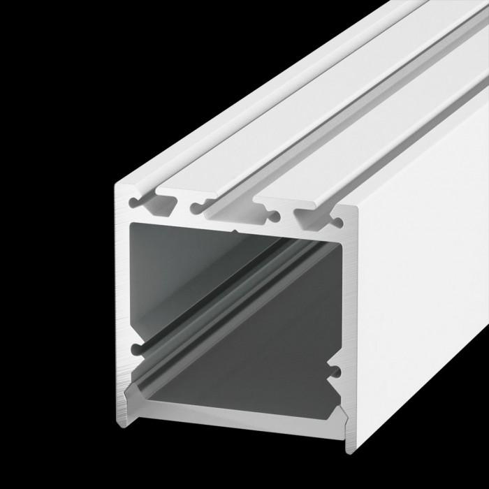 1Подвесной/накладной алюминиевый профиль LS.3535, белый