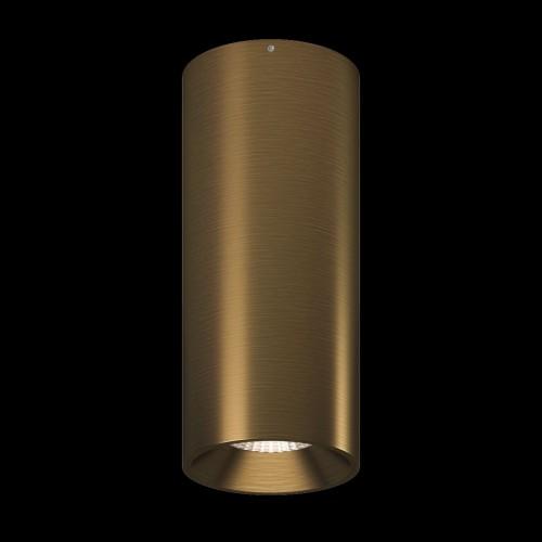 Светильник VILLY, потолочный накладной, 15Вт, 3000K, античный бронзовый