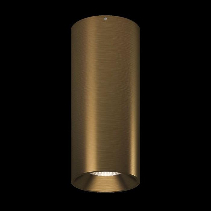 1Светильник VILLY, потолочный накладной, 15Вт, 3000K, античный бронзовый