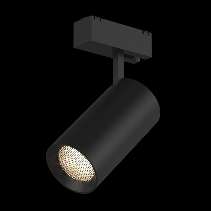 2Трековый светильник SY 20W черный 3000К SY-601202-BL-20-WW
