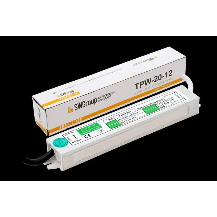 1Al блок питания TPW, 20 W влагозащитный, 12 V