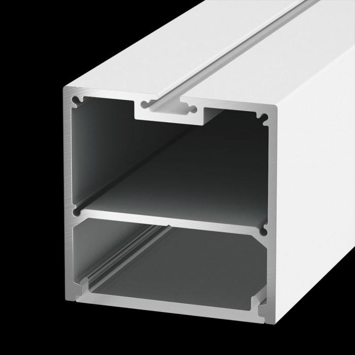 1Подвесной/накладной алюминиевый профиль LS.5050, белый