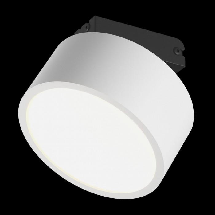 2Светильник светодиодный потолочный накладной наклонный, серия IMD, белый, 7Вт, IP44, Теплый белый (3000К)