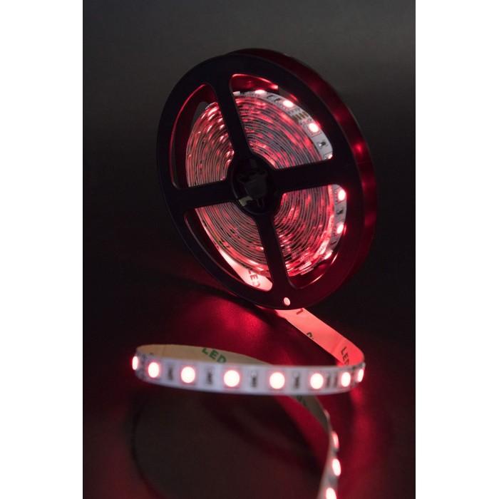 2Лента светодиодная стандарт 5050, 60 LED/м, 14,4 Вт/м, 24В, IP20, Цвет: RGB