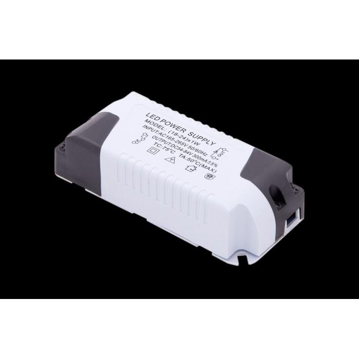2Светильник светодиодный потолочный встраиваемый PL, Белый, Пластик + алюминий, Теплый белый (2700-3000K)