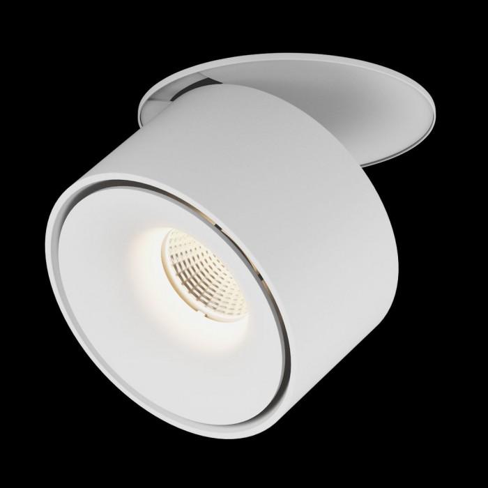 2Светильник светодиодный потолочный встраиваемый наклонно-поворотный, серия LK, Белый, 9Вт, IP20, Нейтральный белый (4000К)