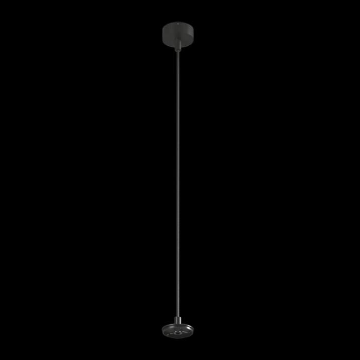 1Крепление сменное М6 для светильников VILLY, подвесное, цвет черный