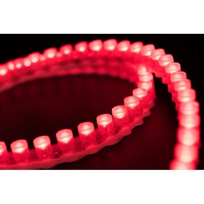2Лента светодиодная DIP 5мм, 96 LED/м, 7,7 Вт/м, 12В, IP68, Цвет: Красный, 970мм