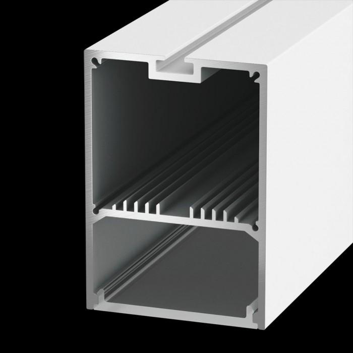 1Подвесной/накладной алюминиевый профиль LS.4970, белый