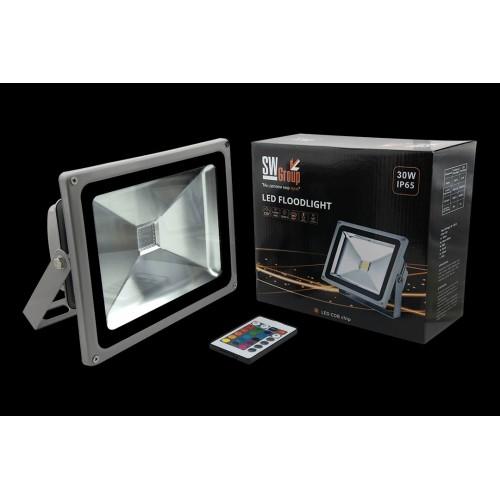 Прожектор светодиодный RGB FL-COB-30-RGB