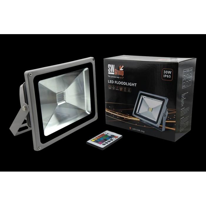 1Прожектор светодиодный RGB FL-COB-30-RGB
