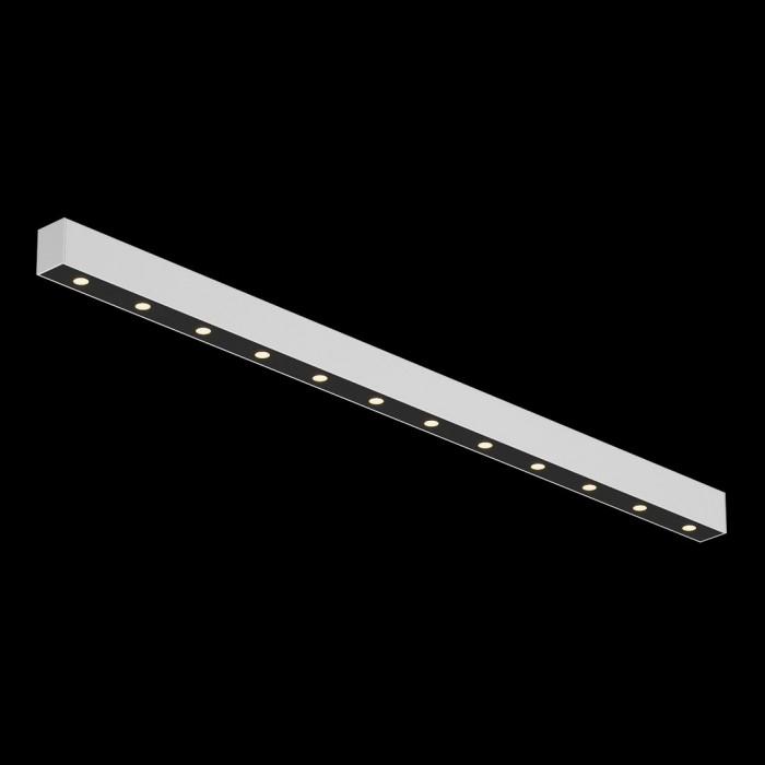 1Светильник светодиодный потолочный накладной, серия FA, черно-белый, 15,3Вт, IP20, Теплый белый (3000К)