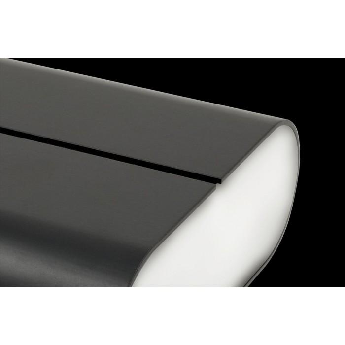 2Бра декоративное RAZOR, черный, 6Вт, 3000K, IP20, GW-1555-6-BL-WW