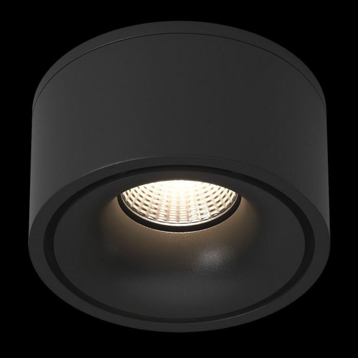 2Светильник светодиодный потолочный встраиваемый наклонно-поворотный, серия LK, Черный, 9Вт, IP20, Нейтральный белый (4000К)