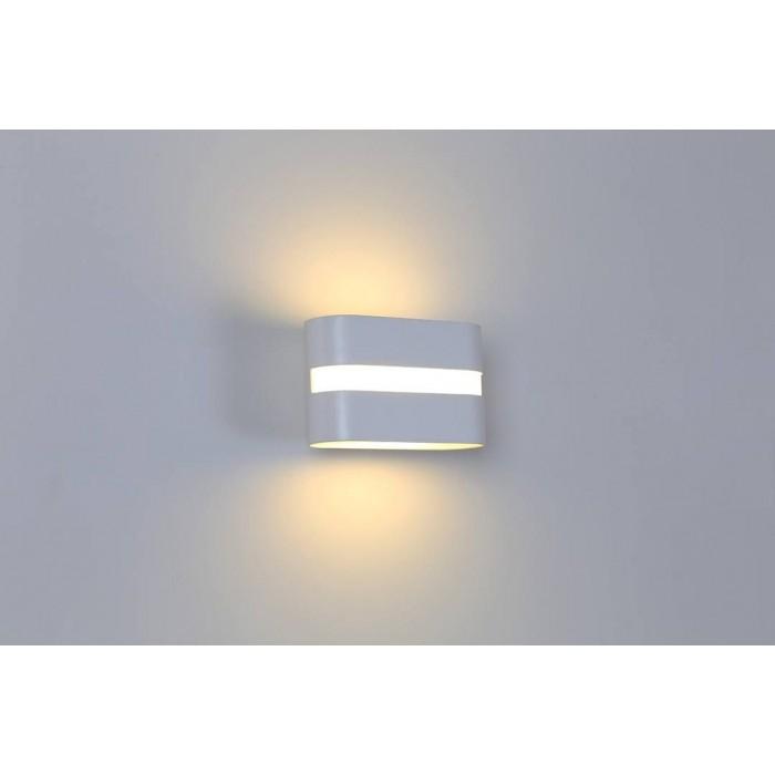2Бра декоративное RAZOR LN, белый, 6Вт, 3000K, IP20, GW-1557-6-WH-WW