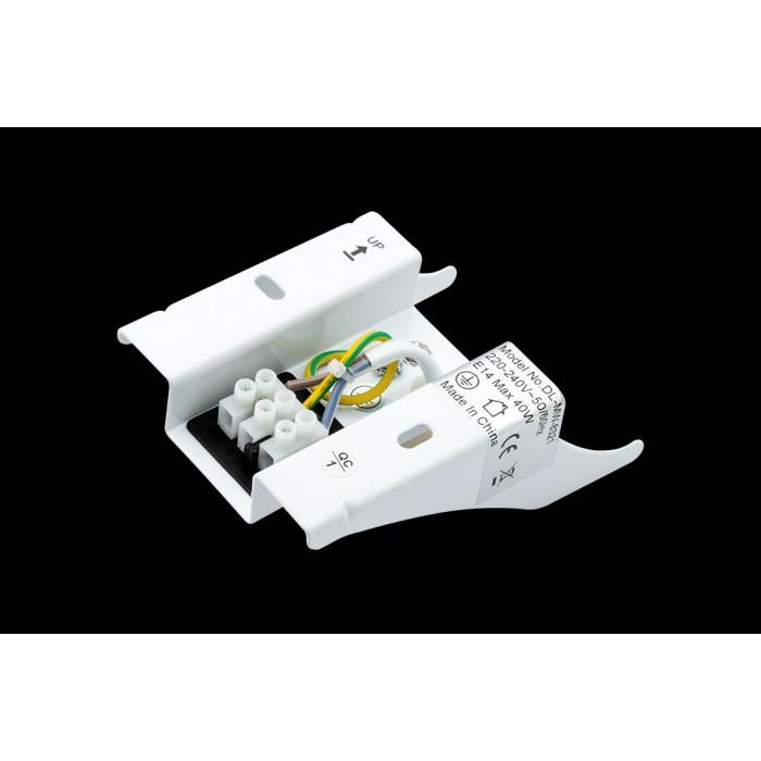 2Гипс MAGIC-B, белый, 40 (max)Вт, K, IP20, DL-MW-8321
