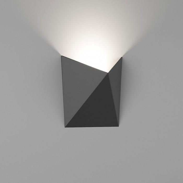 1Бра декоративное TANGO, черный, 7Вт, 4000K, IP54, GW-A816-7-BL-NW