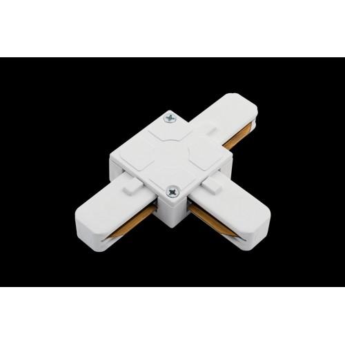T коннектор для однофазных трековыx систем, Белый