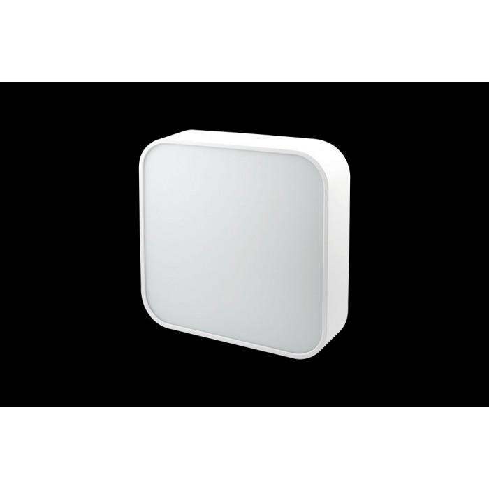 2Светильник светодиодный потолочный накладной наклонный, серия IMD, белый, 25Вт, IP44, Теплый белый (3000К)