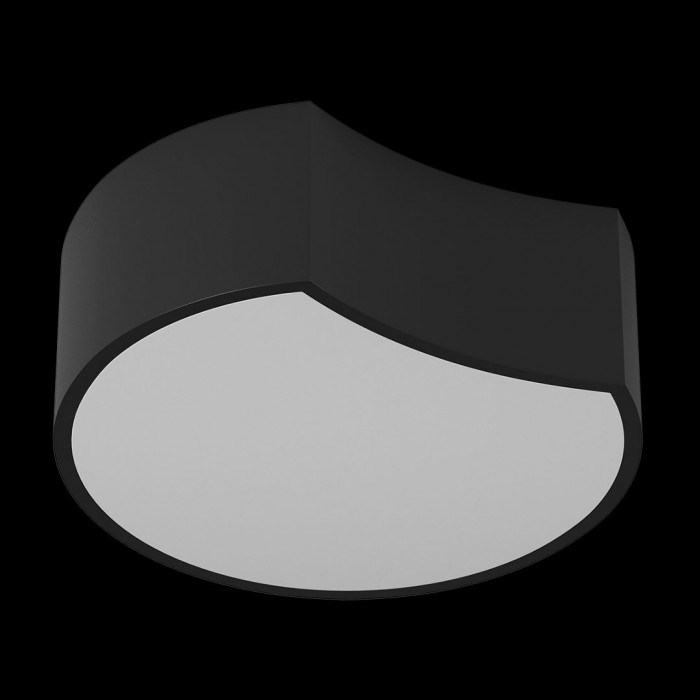 1потолочный светильник Triple А черный 12 3000 AX14031-A-BL-WW