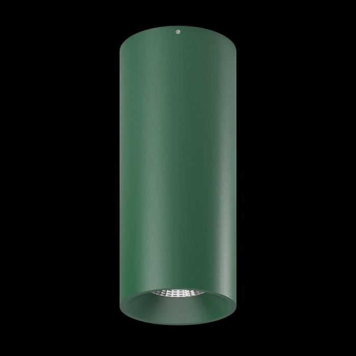 1Светильник VILLY, потолочный накладной, 15Вт, 3000K, зеленый