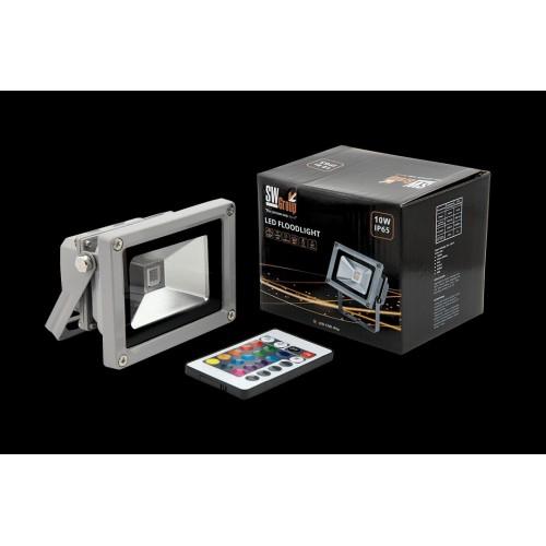 Прожектор светодиодный RGB FL-COB-10-RGB