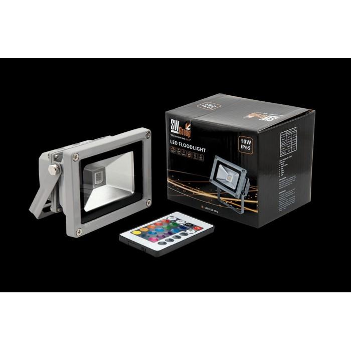 1Прожектор светодиодный RGB FL-COB-10-RGB