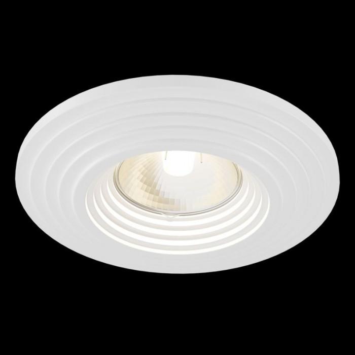 1Встраиваемый светильник Gyps Modern DL004-1-01-W