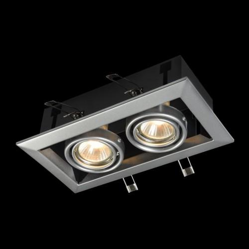 Встраиваемый светильник Metal Modern DL008-2-02-S