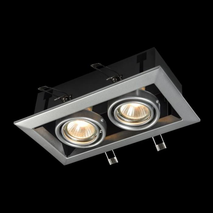 1Встраиваемый светильник Metal Modern DL008-2-02-S