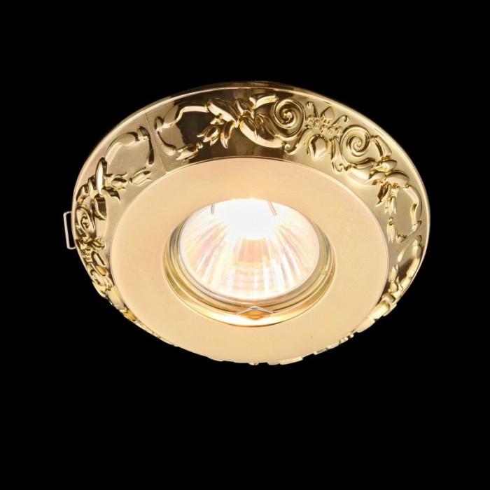 1Встраиваемый светильник Metal Classic DL300-2-01-G