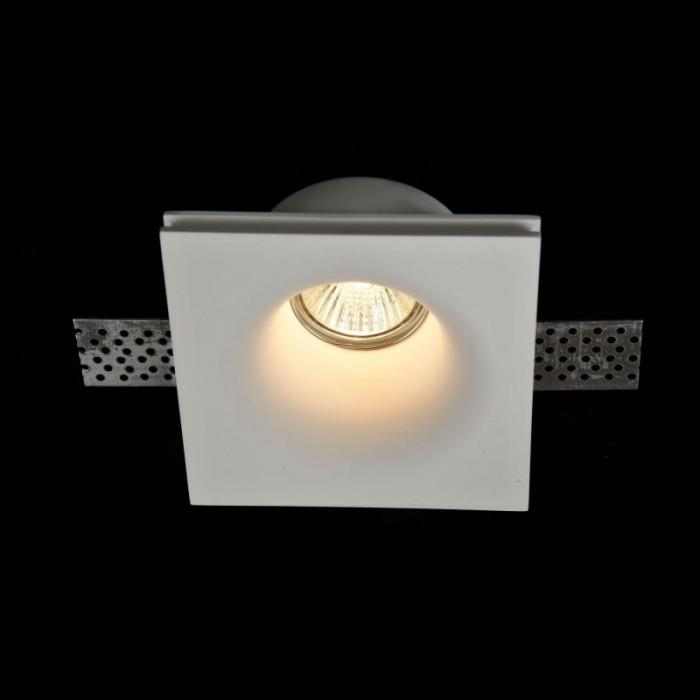 1Встраиваемый светильник Gyps Modern DL001-1-01-W