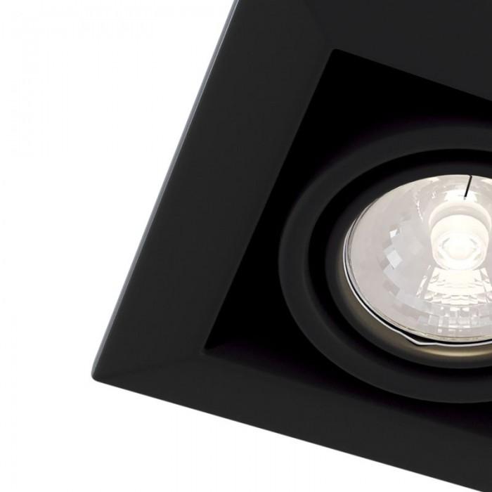 2Встраиваемый светильник Metal Modern DL008-2-01-B