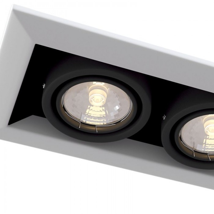 2Встраиваемый светильник Metal Modern DL008-2-02-W