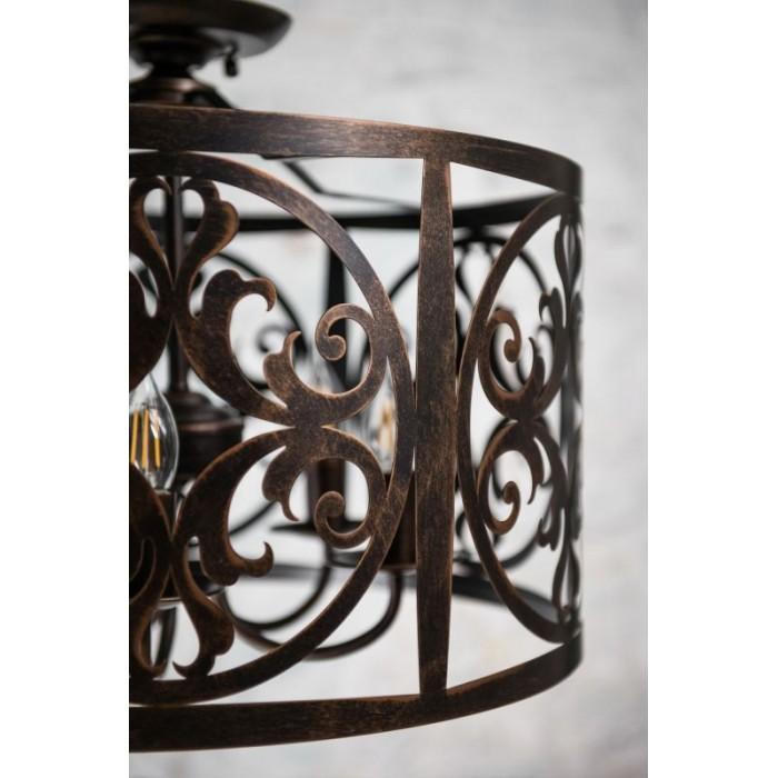 2Подвесной светильник Rustika H899-05-R