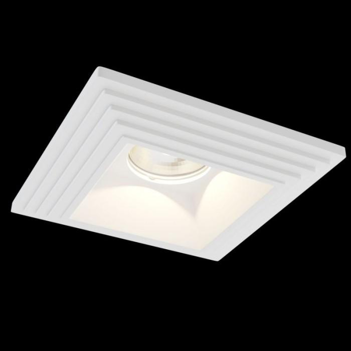 1Встраиваемый светильник Gyps Modern DL005-1-01-W