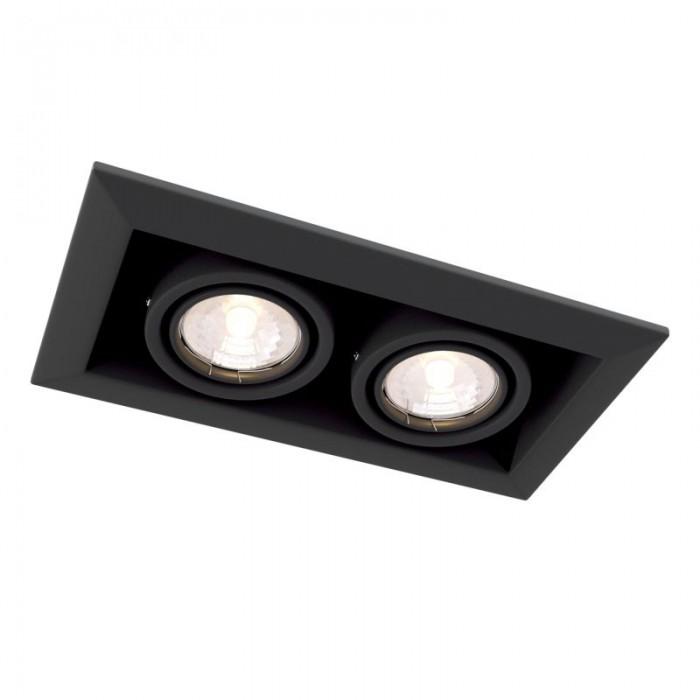 1Встраиваемый светильник Metal Modern DL008-2-02-B