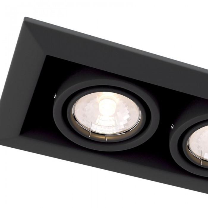 2Встраиваемый светильник Metal Modern DL008-2-02-B