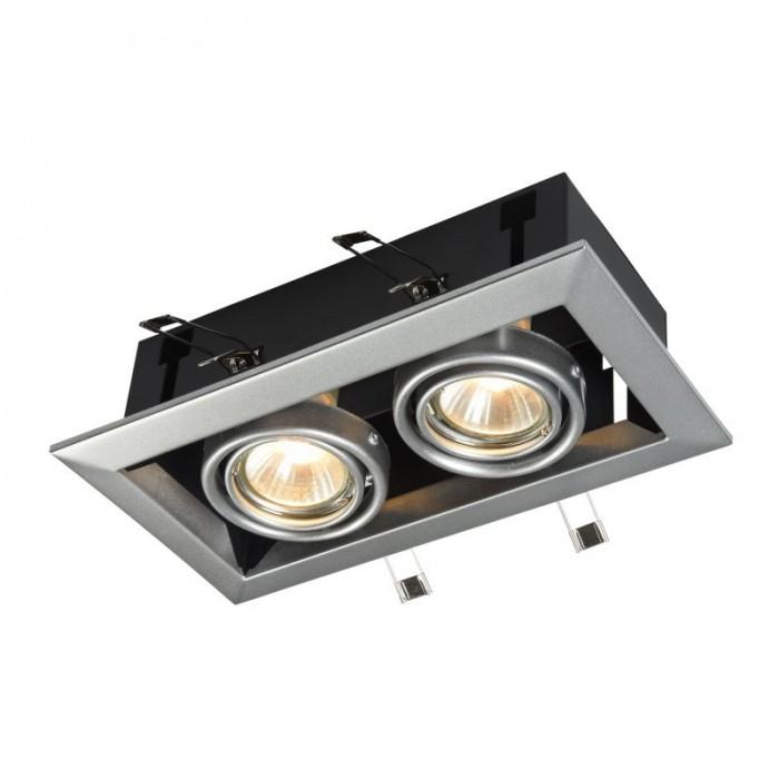 2Встраиваемый светильник Metal Modern DL008-2-02-S