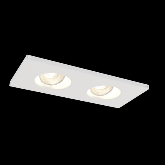 1Встраиваемый светильник Gyps Modern DL002-1-02-W
