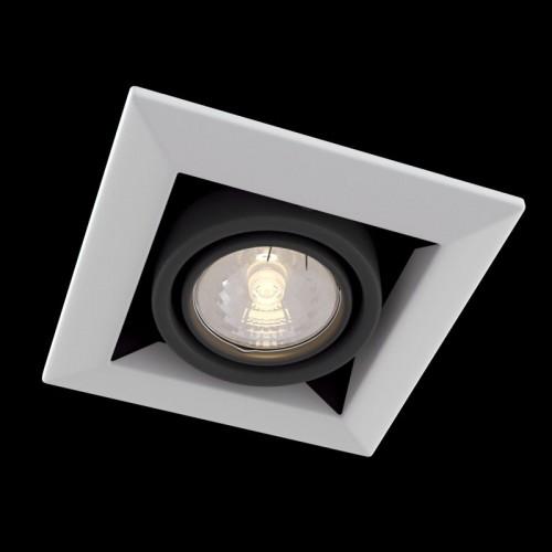 Встраиваемый светильник Metal Modern DL008-2-01-W