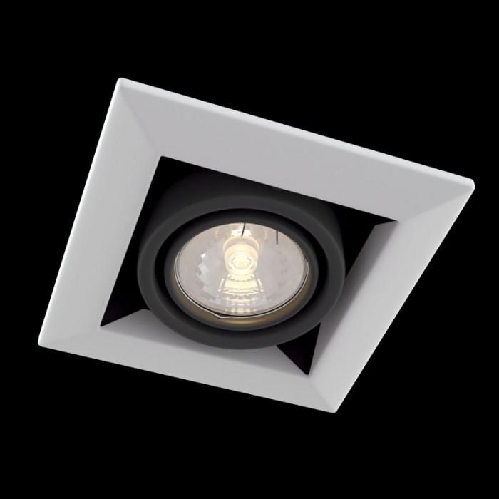 1Встраиваемый светильник Metal Modern DL008-2-01-W