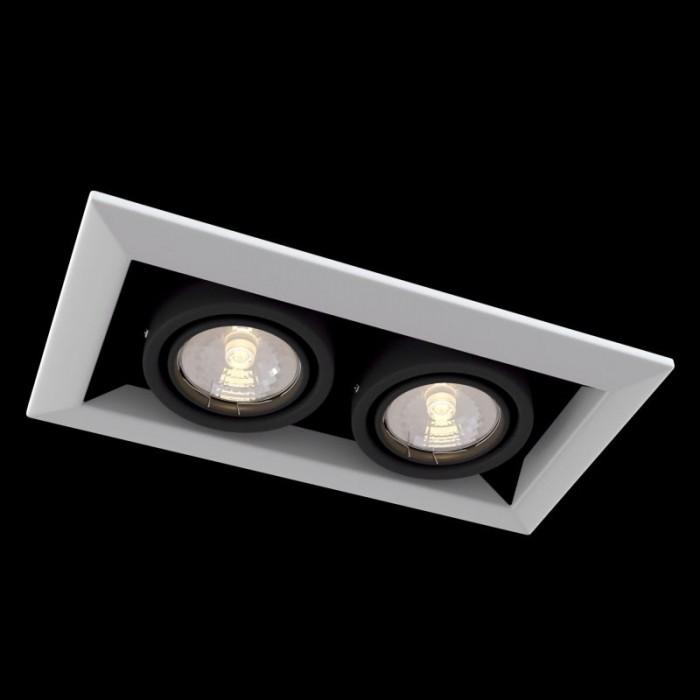 1Встраиваемый светильник Metal Modern DL008-2-02-W