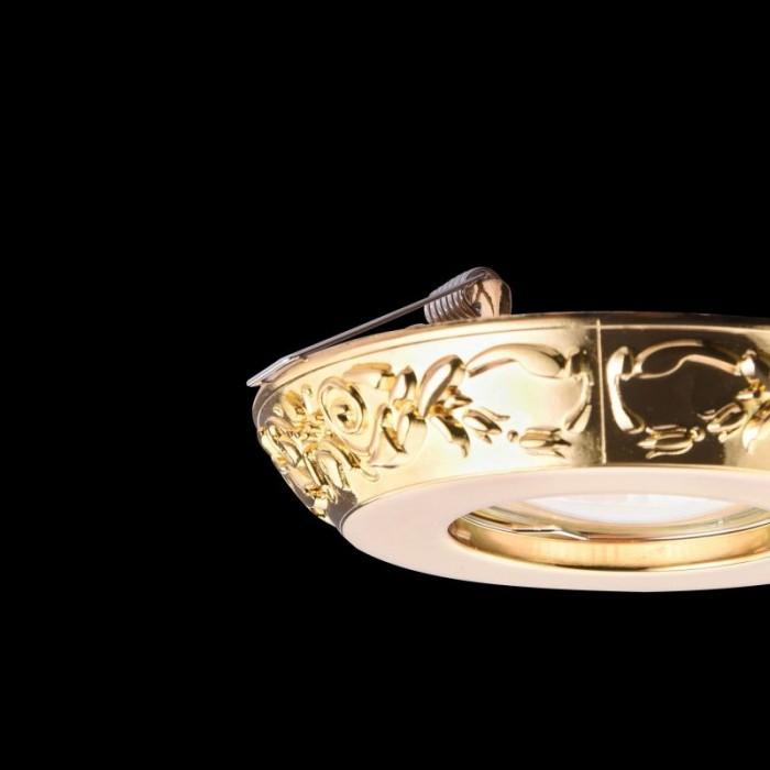 2Встраиваемый светильник Metal Classic DL300-2-01-G