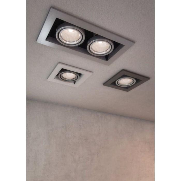2Встраиваемый светильник Metal Modern DL008-2-01-S