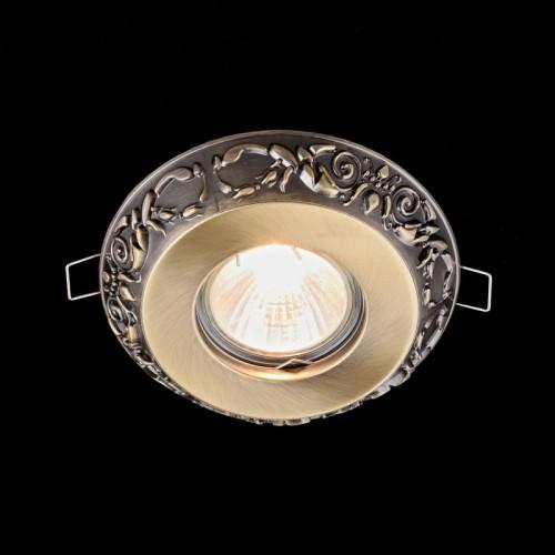 Встраиваемый светильник Metal Classic DL300-2-01-BS